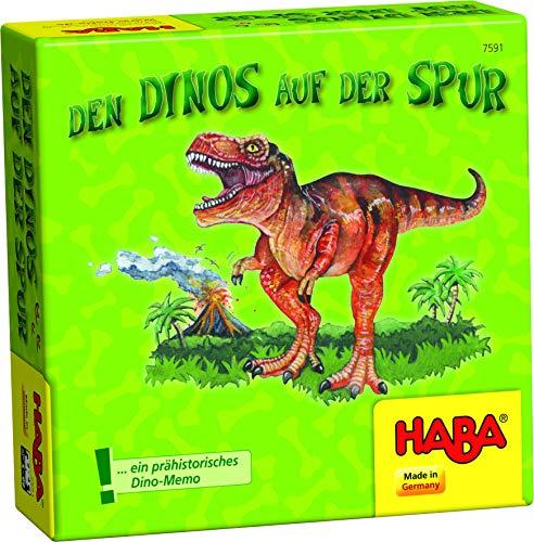 Haba 7591 - Dinos auf der Spur, Legespiel