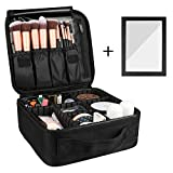Rosmax Travel Makeup Bag, Portable Organizer Makeup Cosmetic Train...