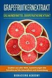 Grapefruitkernextrakt: Das Wundermittel Grapefruitkernextrakt. Studien aus aller Welt, Auswirkungen des Extrakts auf die Gesundheit und Anwendung. - Biohacking Academy