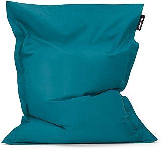 Bean Bag Bazaar Bazaar Bag - Verde Azulado, 180cm x 140cm, Puf Gigante para Interiores y Exteriores – Puff Enorme, Ideal para Usar en el Hogar y el Jardín