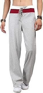 Wearhappy(ウェアハピ) ロング丈 スウェット パンツ ボトムス メンズ トレーニング 部屋着 ゆったり 3色展開 ブラック グレー ホワイト