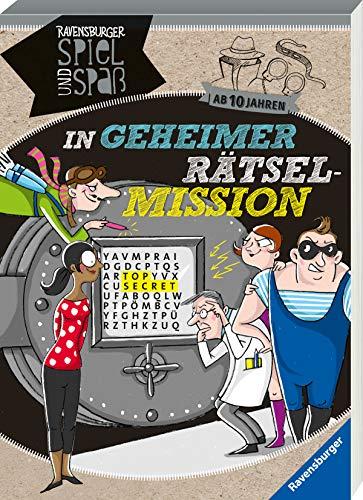 In geheimer Rätsel-Mission ab 10 Jahren (Ravensburger Spiel und Spaß)