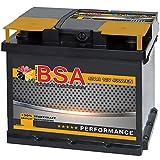 BSA Autobatterie 47AH 12V Batterie 400A/EN +30% Startleistung ersetzt 44Ah 45Ah 50Ah 46Ah 40Ah