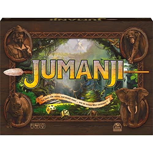 Spin Master Games - Jumanji - das actiongeladene Familienspiel für 2–4 mutige Abenteurer ab 8 Jahren