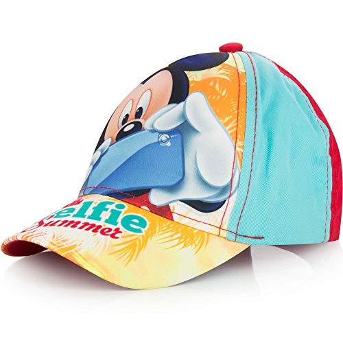 BWR Mickey Mouse - Gorra de béisbol para niños, talla única, diseño de Mickey Mouse