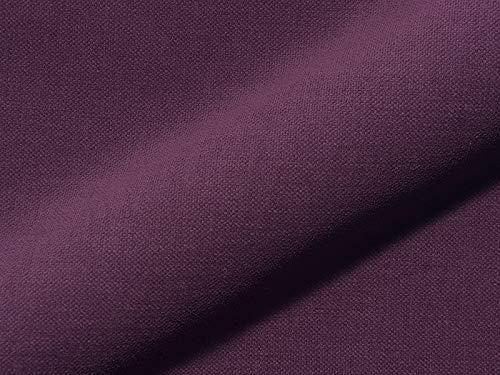 Raumausstatter.de Tissu d'ameublement Princess 5823 uni Couleur Violet comme Housse Solide, Rembourrage Violet uni à Coudre et à Coudre