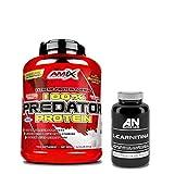 AMIX Predator Protein 2KG Fresa + Carnitina