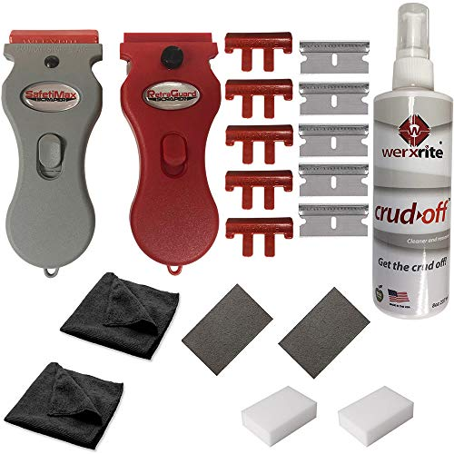 Werxrite Cooktop Cleaning Kit & Other Surfaces - Cooktop...