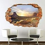 Wandtattoo Arizona Monument Valley Wall Sticker Transfer