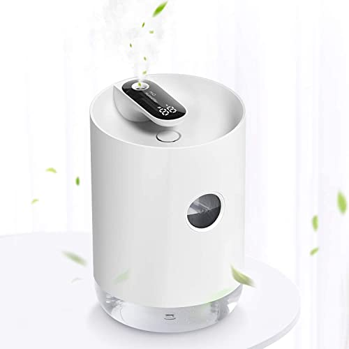 SmartDevil Cool Mist Humidifier,1000mL Rechargeable Battery Humidifier with 3000mAh Battery Operated, Night-Light Fea...