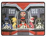 Power Rangers Fleece Throw Blanket