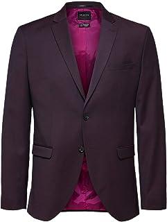 Selected Men's Slhslim-mylobill Brdx Struc BLZ B Noos Blazer