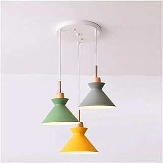 HLY Lumières simples , Lampe Lampe Abat-jour Luminaire Pendentif Plafond Luminaire Abat-jour pour Plafonniers Plafonds Acc...