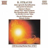 Also Sprach Zarathustra by R. STRAUSS (1992-06-30)