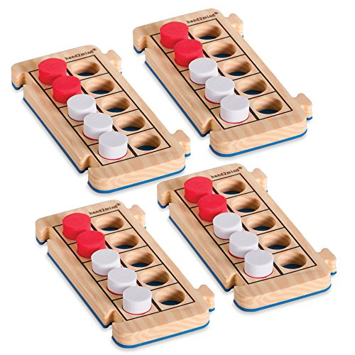 ETA hand2mind RekenRods Ten-Frames, Set of 4