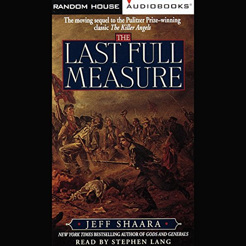 The Last Full Measure audiobook cover art