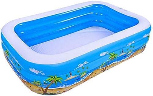 Aufblasbares Familienbaby der Kinder des Pools des Erwachsenen Hauses, das überGrößes schaufelndes Pool verdickt (Größe   3.05M)