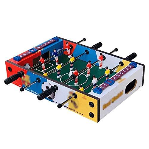 WCJ High Density Umweltschutzbehörde Fussball Arcade Spiele Kickertisch Spielhalle Fußball Tisch Sport for Eltern Kind Unterhaltung
