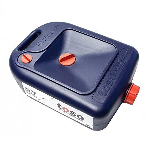 Ablasswanne/Auffangwanne/Ölauffangwanne HT für ÖL & Kühlflüssigkeit - 6 Liter (Toso Made by Ecotanica) Ölwanne