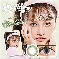 新色 カラコン メルメル ワンデー MerMer by RICHSTANDARD モスグリーン【PWR】-7.50 10枚入り
