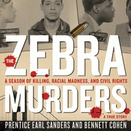 The Zebra Murders audiobook cover art