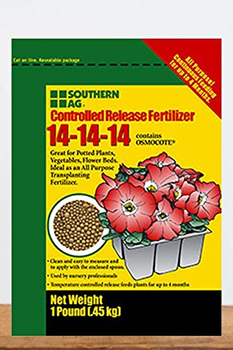 Southern Ag Osmocote Controlled Release Fertilizer 14-14-14, 5 LB