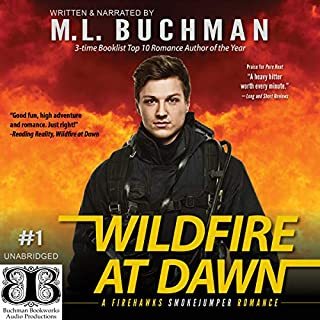 Wildfire at Dawn audiobook cover art
