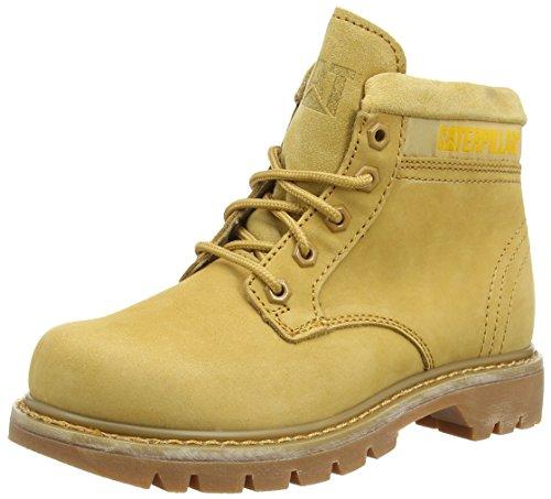 Cat Damen Ridge Chukka Boots, Braun (Honey Reset), 41 EU