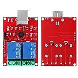 Commutateur de commande USB d'ordinateur PC 5V technologie 2 canaux pour la maison pour l'industrie pour le bureau(usb control switch)