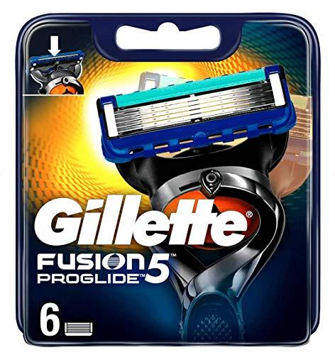 Gillette Fusion5 ProGlide - 6 hojas de repuesto