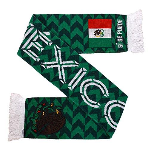 Mexiko, gestrickter Fußball-Schal (Tile)