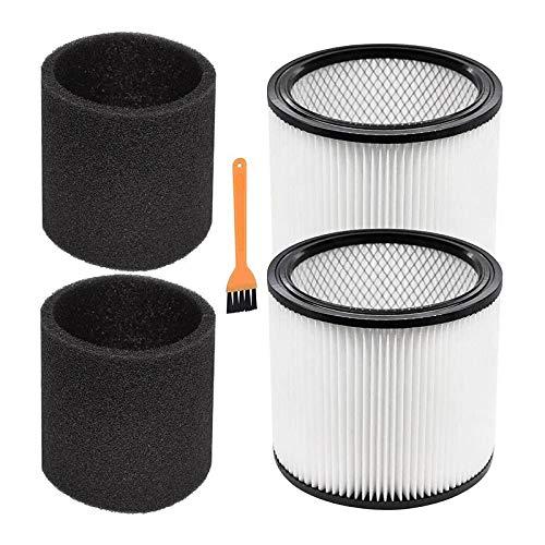 Youmine Filtro de VacíO para Shop Vac 90304 9030400 903-04-00 Adecuado para Aspirador en Seco/HúMedo de 5 Galones y Superior