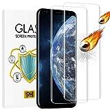 wsky Panzerglas Schutzfolie für Samsung Galaxy S8 [2 Stück], 3D Volle Abdeckung, 9H Härte, Anti-Scratch, Fallfreundlich, Einfache Montage, Ultra HD Displayschutzfolie für Samsung Galaxy S8