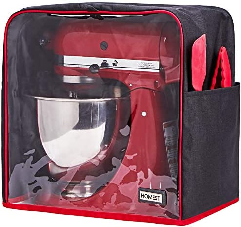 HOMEST Stand Mixer Visible Dust Cover for KitchenAid Mixer Fits All Tilt Head Models 4 5 5 Quart product image