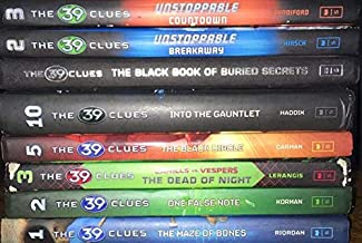 The 39 Clues 8 Book Set - The Maze of Bones - One False Note - The Dead of Night - The Black Circle - Into the Gauntlet - ...