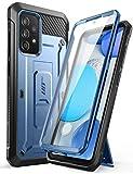 SUPCASE Cover per Samsung Galaxy A52 4G/5G (2021) Custodia con Protezione per Schermo Integrata, Cavalletto, Clip da Cintura [Unicorn Beetle PRO] Protezione a 360 Gradi Antiurto (Tilt)