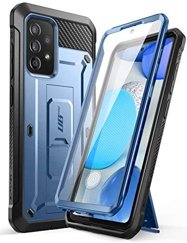 SUPCASE Outdoor Hülle für Samsung Galaxy A52 4G/5G Handyhülle Bumper Case 360 Grad Schutzhülle Cover [Unicorn Beetle Pro] mit Integriertem Displayschutz (Blau)