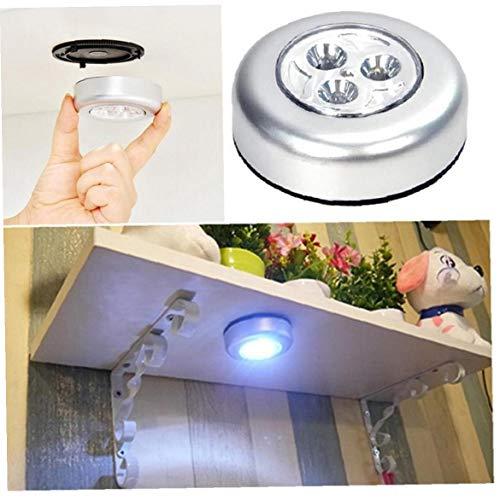 LAVALINK Selbstklebende Cordless Batterie-Wand-lampen-nachtlicht Für Schrank Flur Schrank Schrankküche Treppen Powered