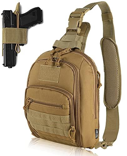 DBTAC Tactical Bag Shoulder Chest Pack with Sling for...