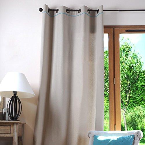 Lovely Casa R61490012 Duo-Tenda Oscurante, 135 x 250 CM, 100% Cotone