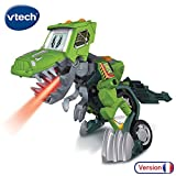 VTECH- Switch & GO Dinos-DREX Voiture/Dinosaure, 80-197205, Multicolore