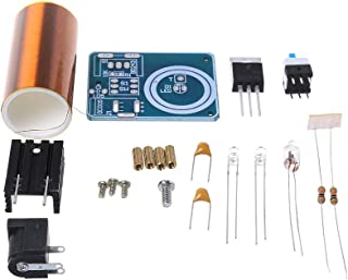 Zripool 9-12V BD243 Mini Tesla Coil Kit Electronics DIY Parts Wireless Transmission DIY Board Set