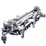 LOSGO Grúa- Modelo- Juguete de Construcción- El Set más avanzado de Technic- con Motor