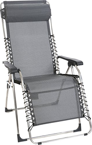 Relaxsessel Oasi Surprise mit grauem Textilenbezug