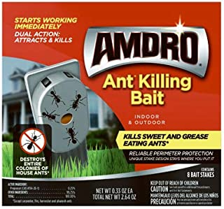 Amdro Central Garden Brands 100531828 Ant Control Stakes, Indoor/Outdoor, 8-Pk. - Quantity 1