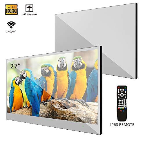 Soulaca IP66 Wasserdichter 27 Zoll Smart Spiegel LED Fernseher für Badezimmer