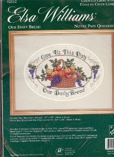Elsa Williams Our Daily Bread Counted Cross Stitch Kit