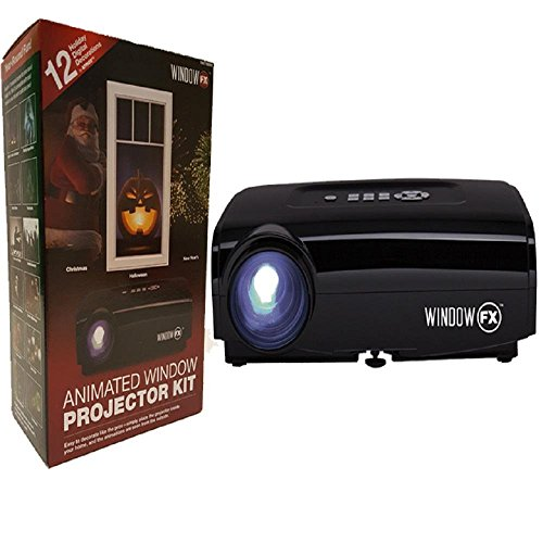 2016 Windowfx Atmos Animated Window Projector Kit Includes 12 Pre-loaded Holiday Images