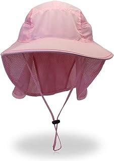 JUZEN Protección UV Sombrero para el Sol Verano Sombrero para el Sol al Aire Libre, Adecuado para la Pesca Senderismo Jardinería Escalada en la Playa, para Mujeres y Hombres
