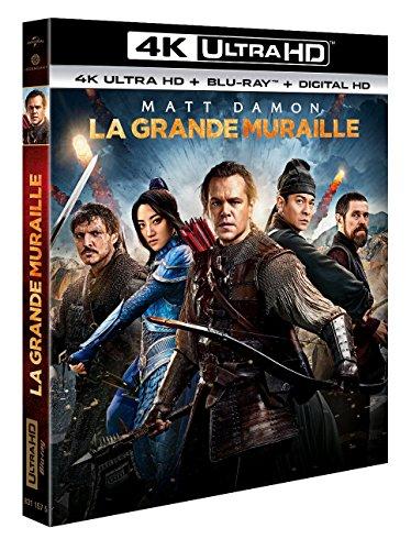 La Grande Muraille [4K Ultra HD + Blu-Ray + Digital Ultraviolet] [4K Ultra HD + Blu-ray + Digital UltraViolet]